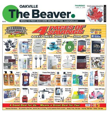 Oakville Beaver, 27 Jun 2019
