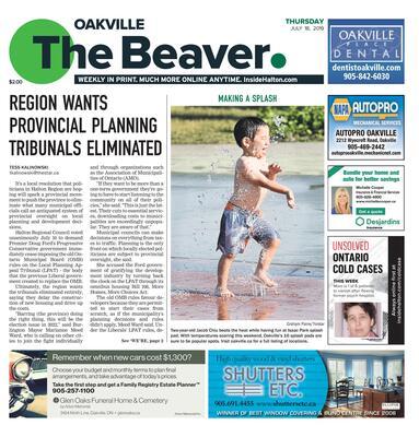 Oakville Beaver, 18 Jul 2019