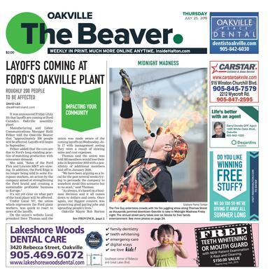 Oakville Beaver, 25 Jul 2019