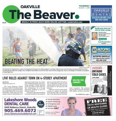 Oakville Beaver, 1 Aug 2019