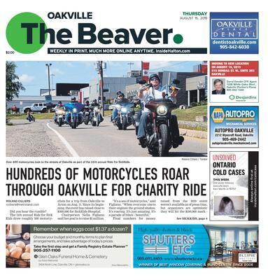 Oakville Beaver, 15 Aug 2019