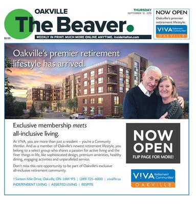 Oakville Beaver, 12 Sep 2019