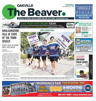 Oakville Beaver, 26 Sep 2019
