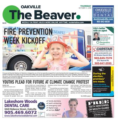 Oakville Beaver, 3 Oct 2019