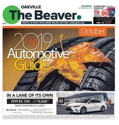 Oakville Beaver, 24 Oct 2019