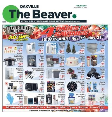 Oakville Beaver, 7 Nov 2019
