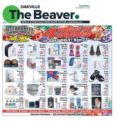 Oakville Beaver, 21 Nov 2019