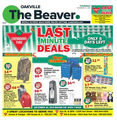Oakville Beaver, 19 Dec 2019