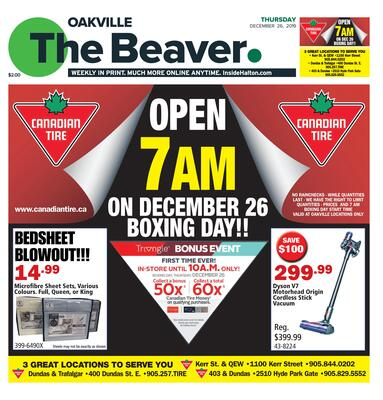 Oakville Beaver, 26 Dec 2019