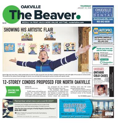 Oakville Beaver, 23 Jan 2020