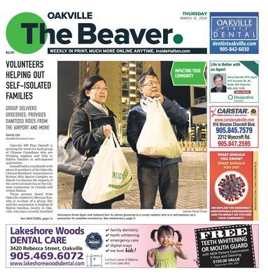 Oakville Beaver, 12 Mar 2020