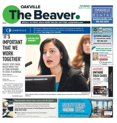 Oakville Beaver, 19 Mar 2020