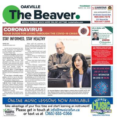 Oakville Beaver, 26 Mar 2020