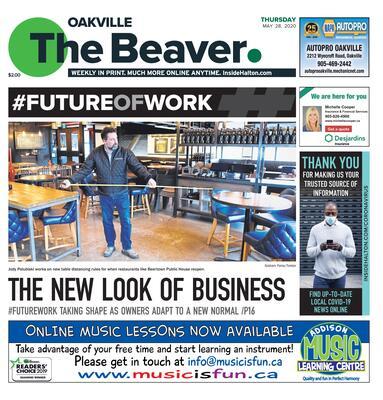 Oakville Beaver, 28 May 2020