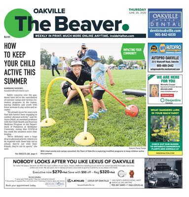 Oakville Beaver, 25 Jun 2020
