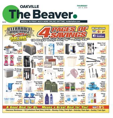 Oakville Beaver, 9 Jul 2020