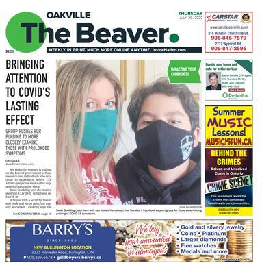 Oakville Beaver, 30 Jul 2020