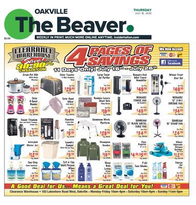 Oakville Beaver, 16 Jul 2020