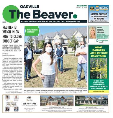 Oakville Beaver, 6 Aug 2020