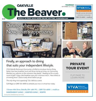 Oakville Beaver, 24 Sep 2020