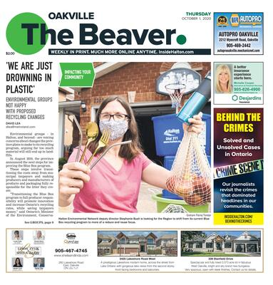 Oakville Beaver, 1 Oct 2020