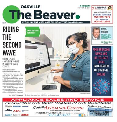Oakville Beaver, 8 Oct 2020