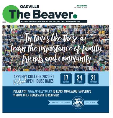 Oakville Beaver, 15 Oct 2020