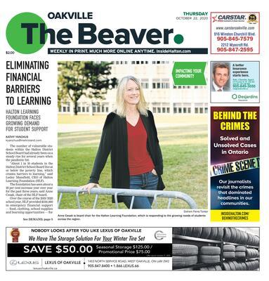 Oakville Beaver, 22 Oct 2020