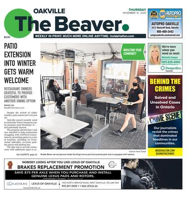 Oakville Beaver, 12 Nov 2020