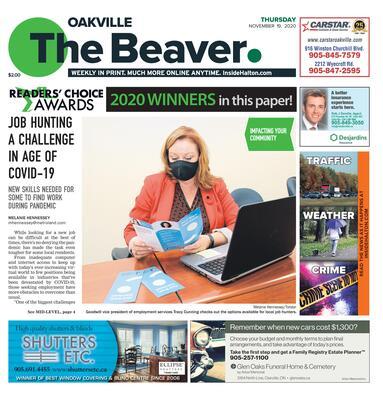 Oakville Beaver, 19 Nov 2020