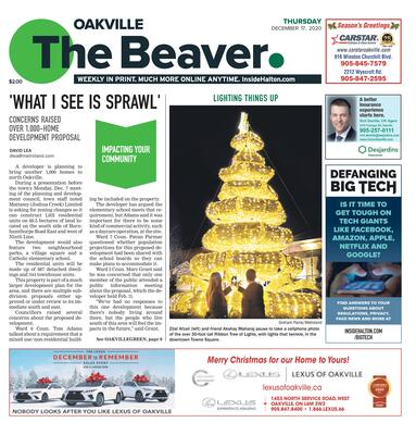 Oakville Beaver, 17 Dec 2020