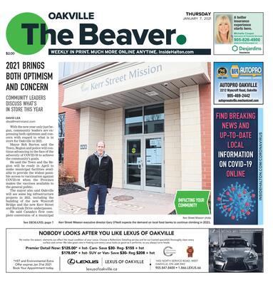 Oakville Beaver, 7 Jan 2021