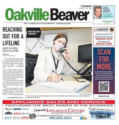 Oakville Beaver, 28 Jan 2021