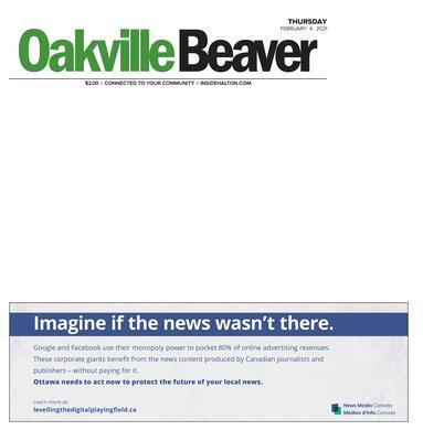 Oakville Beaver, 4 Feb 2021