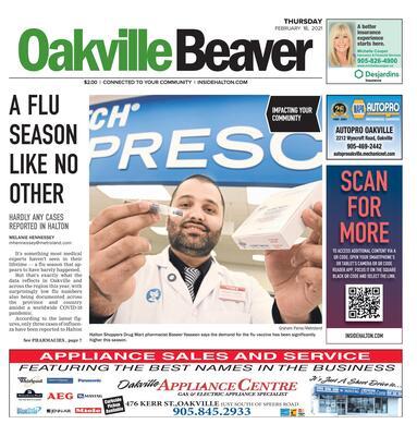 Oakville Beaver, 18 Feb 2021