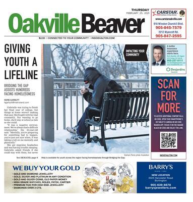 Oakville Beaver, 25 Feb 2021
