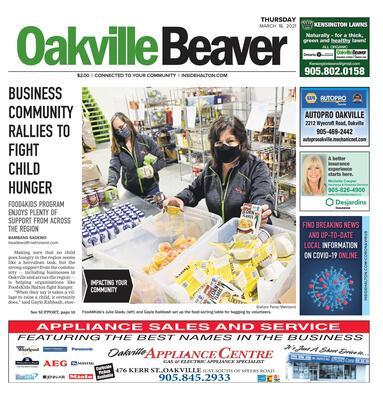 Oakville Beaver, 18 Mar 2021