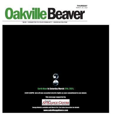 Oakville Beaver, 25 Mar 2021