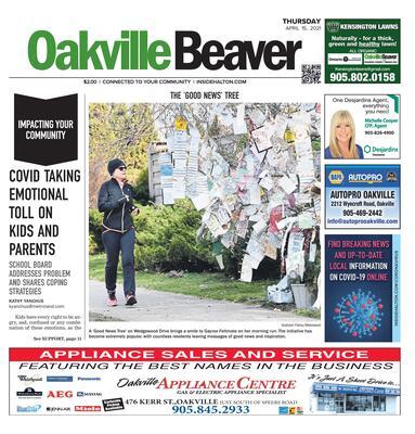 Oakville Beaver, 15 Apr 2021