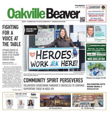 Oakville Beaver, 22 Apr 2021