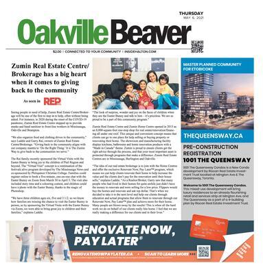 Oakville Beaver, 6 May 2021