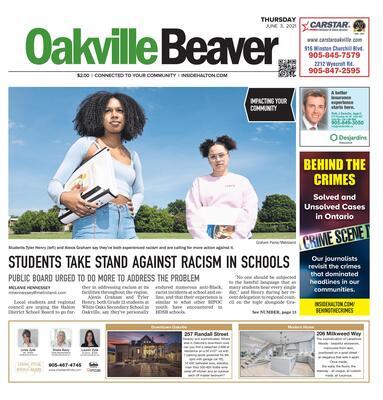 Oakville Beaver, 3 Jun 2021
