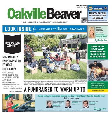 Oakville Beaver, 24 Jun 2021