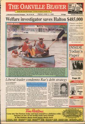 Oakville Beaver, 11 Jun 1993