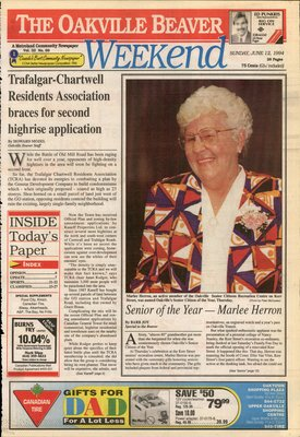 Oakville Beaver, 12 Jun 1994
