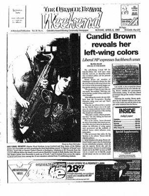 Oakville Beaver, 6 Apr 1997