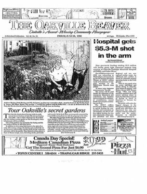 Oakville Beaver, 26 Jun 1998
