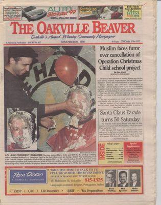Oakville Beaver, 20 Nov 1998