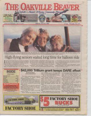 Oakville Beaver, 30 Jul 1999
