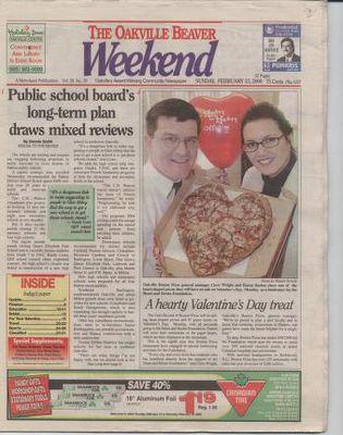 Oakville Beaver, 13 Feb 2000